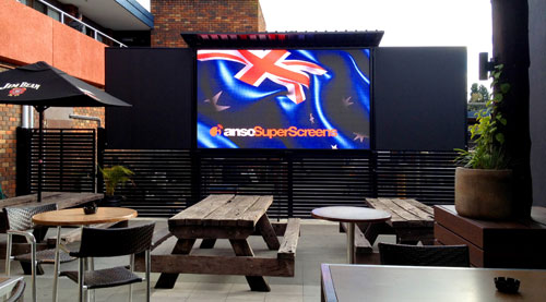 LED Super Screens for Hotels, Pubs and Clubs : ANSO SuperScreens